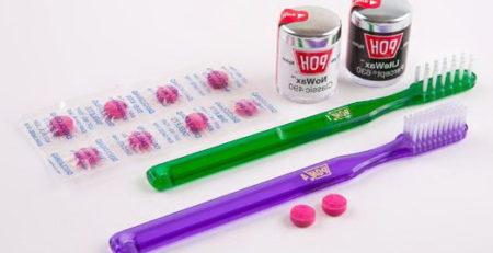 пробник зубной щетки
